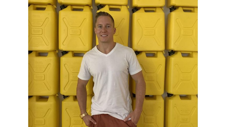 Grant Conner Turns Gold Into Water For Those In Arid Parts Of The World