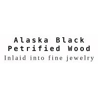 Alaska Black Petrified Wood