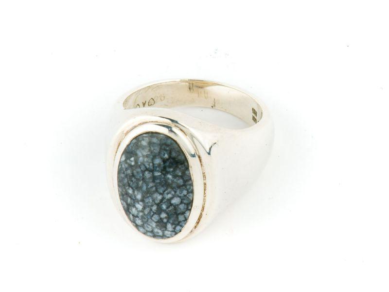 Alaska Sea C Sterling Silver Ring