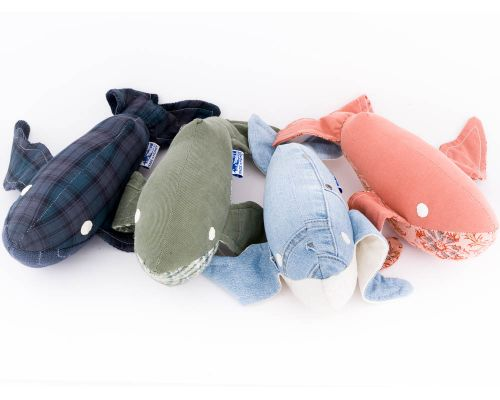 Homer Whales Home Made Small Fin Whale Stuffed Animal