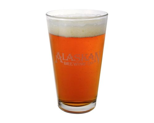 Alaskan Brewing Company Etched Pint Glass