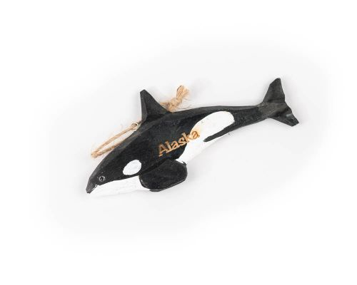 Alaska Orca Killer Whale Ornament