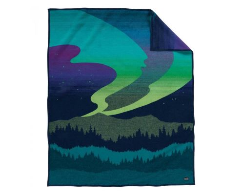 Northern Lights Pendleton Blanket