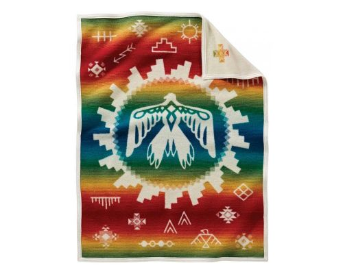 Sunrise Eagle Pendleton Crib Baby Blanket