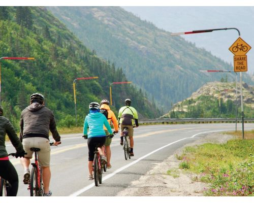 White Pass Train & Bike Tour