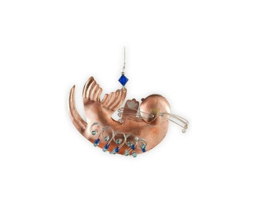 Oscar Otter Metal Ornament
