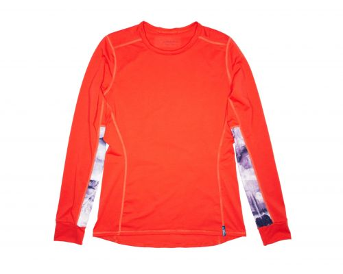 Women's Rendezvous Ridge Long Sleeve Autumn Alder Red