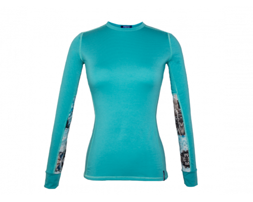 Women's Rendezvous Ridge Long Sleeve Glacial Teal
