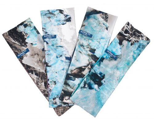 Knik Glacier Ice Traverse Headband