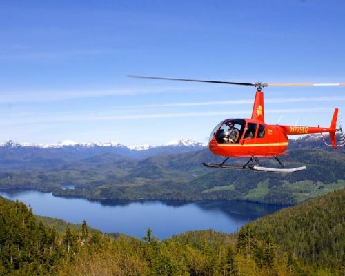 Mountain Lake Helicopter Tour