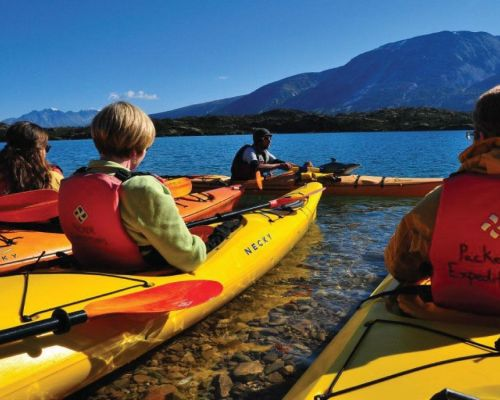 Glacier Lake Kayak & Scenic Rail