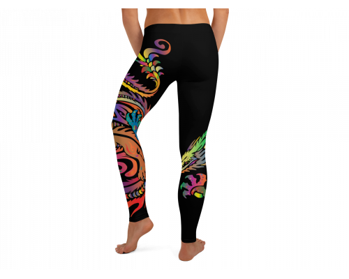 Rainbow Dragon Leggings