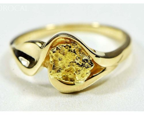 Orocal Single Gold Nugget Women's Ring