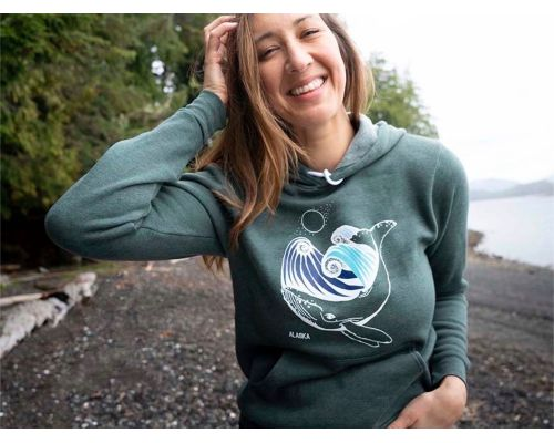 """Under the Sea"" Alaska Themed Hoodie"