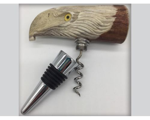Eagle Design Wine Stopper/Cork Screw