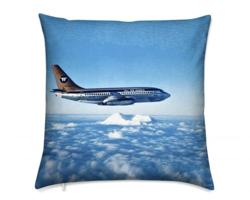 Alaska Mt. McKinley/Denali Wien Air Boeing 737 Luxury Pillow