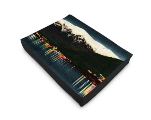 Alaska Juneau Territorial Evening Dog Bed