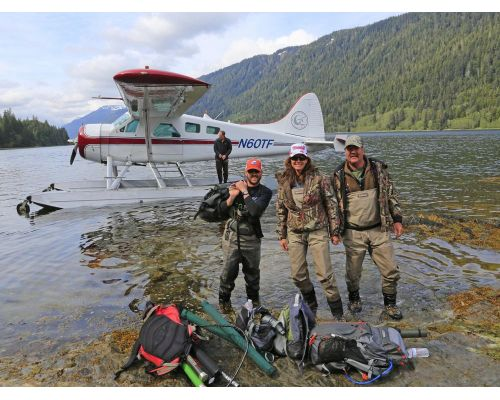 Full Day Fishing By Float Plane