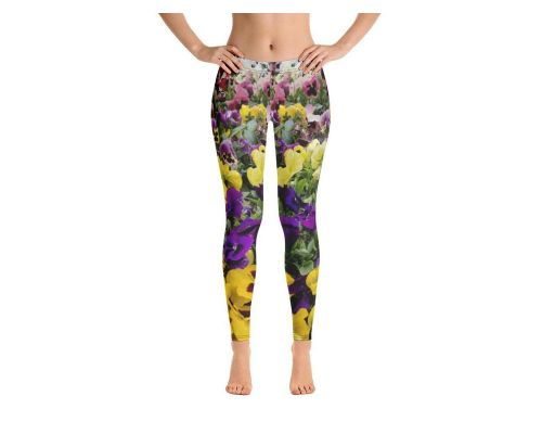 Pansies Leggings