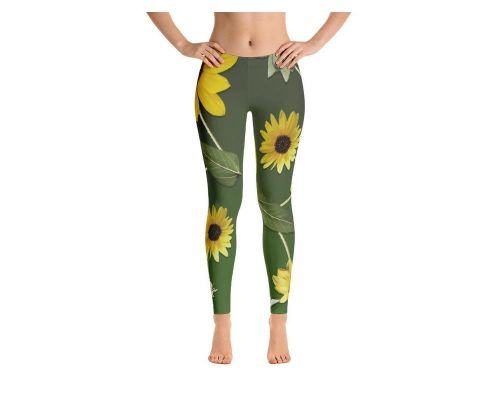 Grandma's Sunflower Leggings