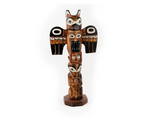 Alaska Black Diamond Legend Of The Sun And Raven Totem Pole