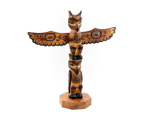 Alaska Black Diamond The Love Birds Totem Pole