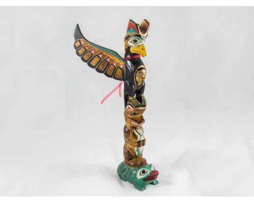 Alaska Black Diamond Spirit Of Eagle Totem Pole