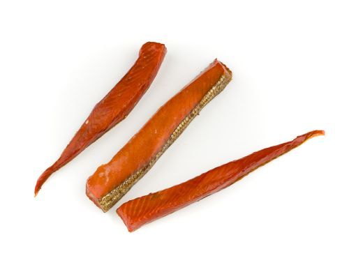 Alaskan Smoked Salmon Belly Strips