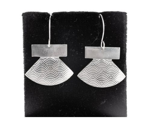 Silver Plated Ulu Earrings