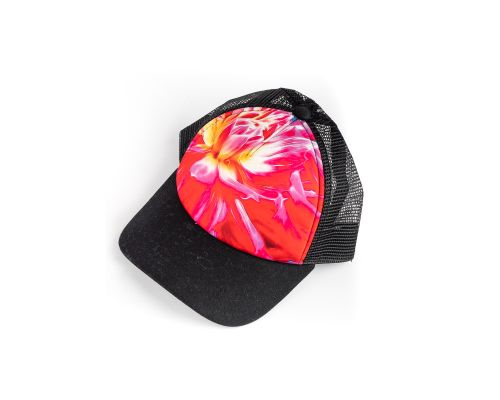 Soul Happy Dahlia & Fireweed Trucker Hat