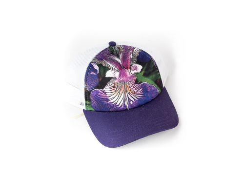Soul Happy Wild Iris Trucker Hat